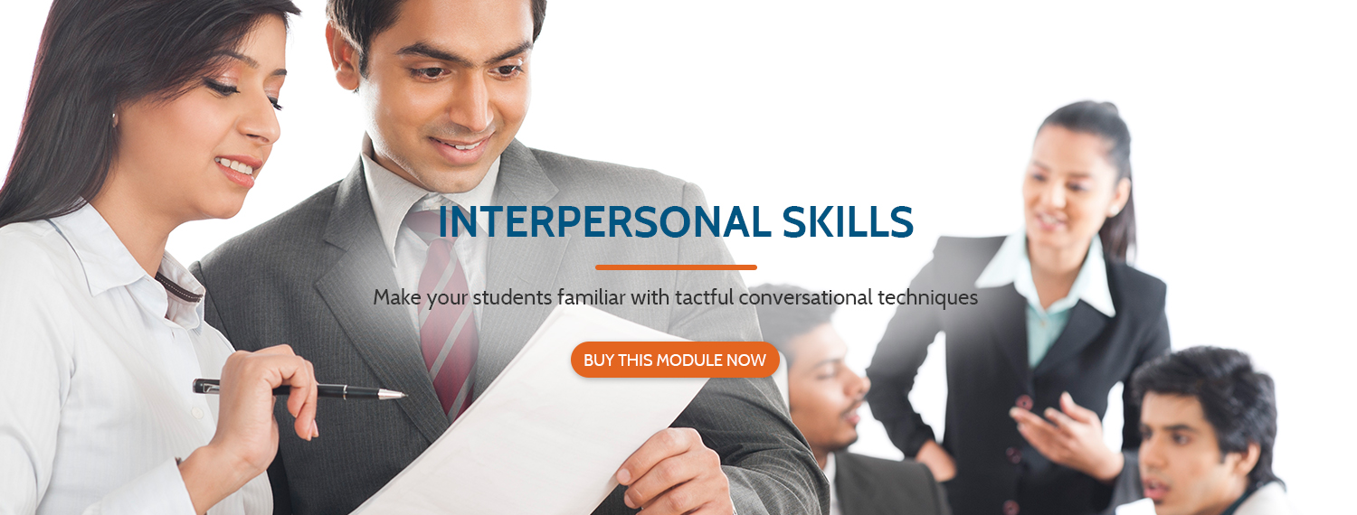 Interpersonal skills training